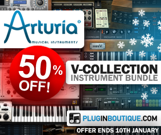 50% off Arturia's V-Collection Bundle