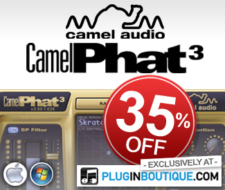 CamelPhat 35% off at Plugin Boutique
