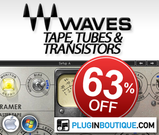 Throughout November, we'll be running a 63% off sales on the award winning Tape, Tubes Transistors.
