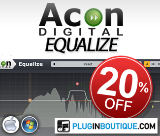 Special introduction offer available until December 25th, during which Equalize is available with 20% discount.
