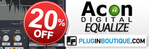 Acon Digital Equalize Introductory Sale