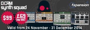 Fxpansion DCAM Synth Squad Black Friday Special!
