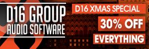 D16 Group 30% off Christmas Sale
