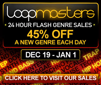 Loopmasters 24 hour genre sales