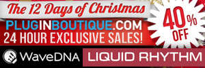 WaveDNA Liquid Rhythm Exclusive 12 Days of Christmas!