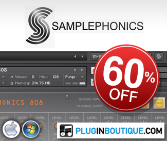 This is probably the cheapest you will ever see these instruments. Save 60% off Samplephonics' Kontakt Instruments.