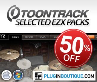 ToonTrack EZX Sale