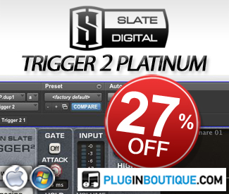 Slate Digital 27% off Sale