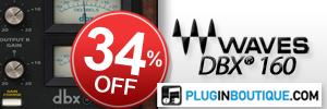 Waves dbx® 160 Compressor / Limiter Sale