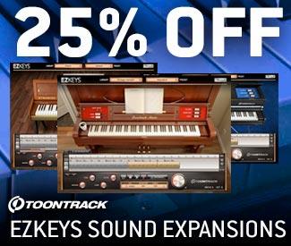 ToonTrack Sound Expansion Sale