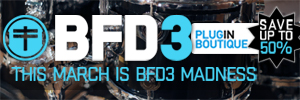 Fxpansion BFD3 March Madness Sale