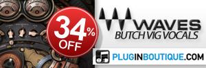 Waves Butch Vig Vocal Introductory Sale