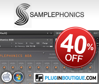 Samplephonics 40% Sale