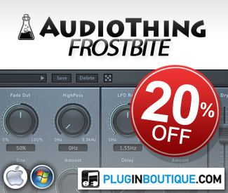 AudioThing Frostbite 20% Sale
