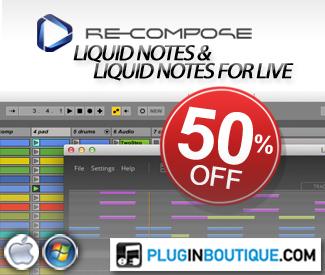 Recompose Liquid Notes & Liquid Notes For Live 50% Sale