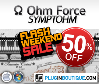 Ohm Force Symptohm Flash Weekend 50% Sale