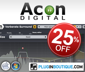 Acon Digital 25% off Sale