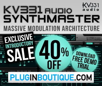 Synthmaster 40% off sale