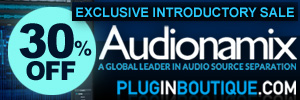 Audionamix Introductory Sale