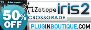 iZotope Iris 2 Crossgrade Summer Sale