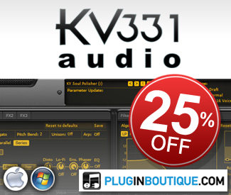 KV331 Audio Everything Bundle 25% off Sale