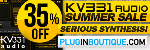 KV331 Audio Synthmaster Summer Sale