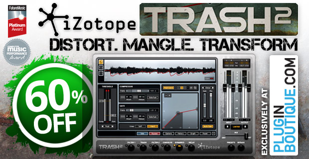 iZotope Trash2 New Website Exclusive