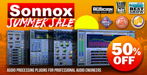Sonnox Summer Sale