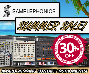 Samplephonics Kontakt Instrument Summer Sale
