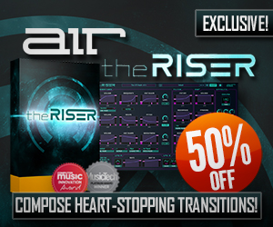 AIR Music Technology The Riser Exclusive Deal of the Week