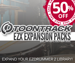ToonTrack EZX Expansion Pack Sale