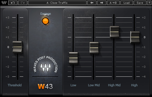Waves W43 Noise Reduction Plugin One Day Sale