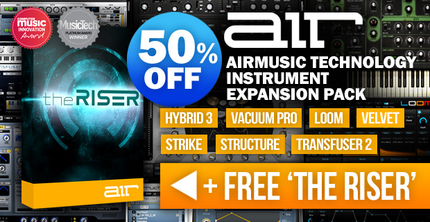 Air Music Technology Instrument Expansion Pack and Free The Riser