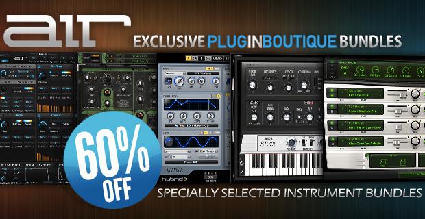 Air Music Tech Exclsuive Plugin Boutique Bundles Sale