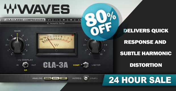Waves CLA-3A Compressor / Limiter 24 Hour Sale