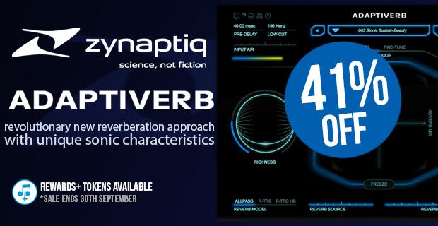 Zynaptiq ADAPTIVERB Introductory Sale