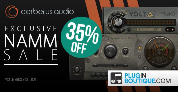 Cerberus Audio NAMM Sale