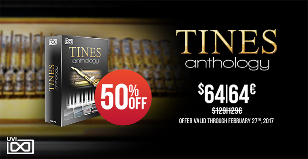 UVI Tine Anthology: Save 50% off at Plugin Boutique