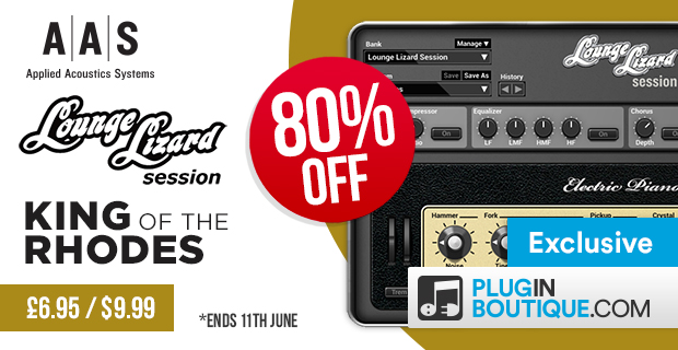 AAS Lounge Lizard Sessions Sale: Save 80% Off Exclusively at Plugin Boutique