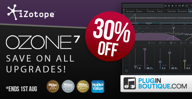 620x320 izotope ozone7 upgrades 30 pluginboutique