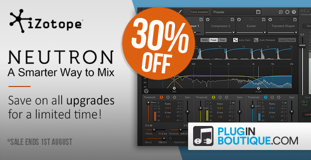 iZotope Neutron Upgrade Sale