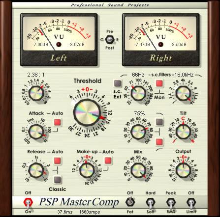PSP MasterComp