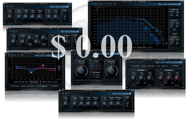 Blue Cat's Freeware Plug-ins Pack II [Bundle]