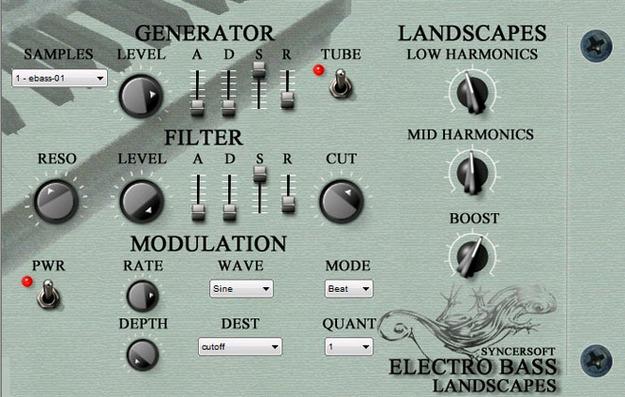Electro Bass Landscapes