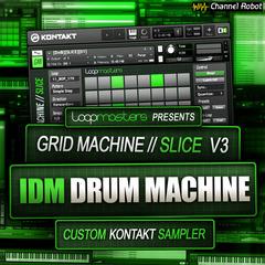 Grid Machine Slice - IDM Drum Machine