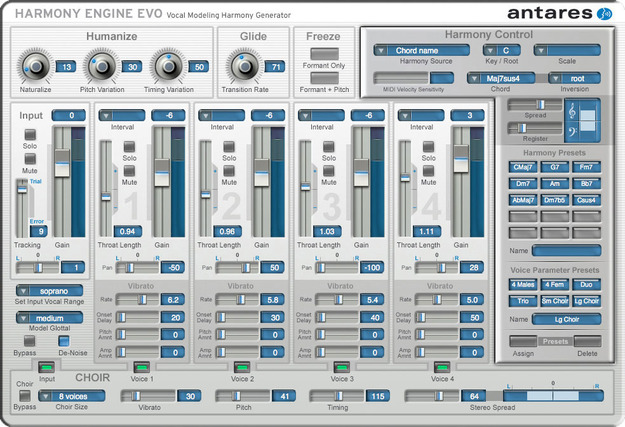 Auto Tune Vocal Studio - Native