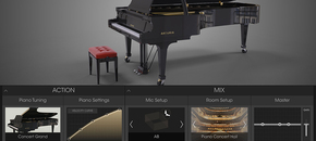 Piano interface