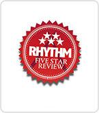 Rhythm five star award