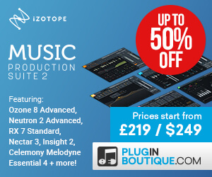 300x250 izotope music production suite 2 out now banners