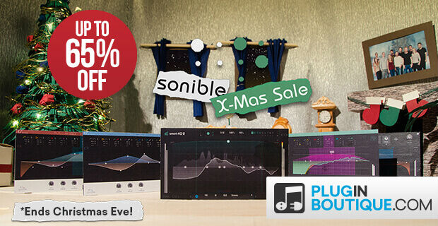 Sonible Holidays Sale: Save at Plugin Boutique